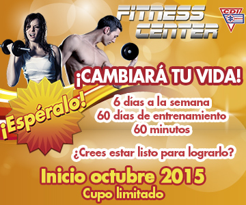 Fitness Center ¡cambiará tu vida!