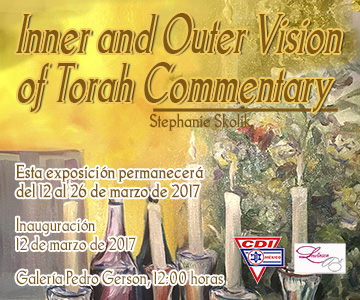 Exposición Inner and outer vision of Torah Commentary