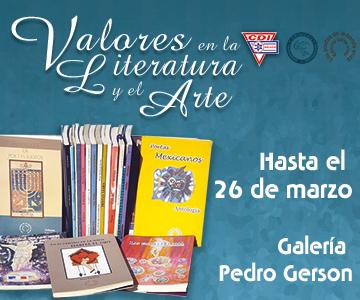 Exposición Valores en la literatura y el arte