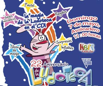 22 Aniversario Ludoteca
