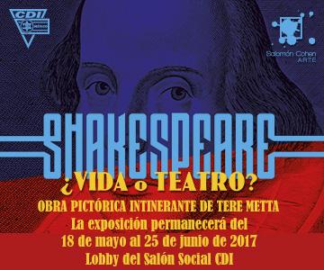Exposición Shakespeare ¿vida o teatro?