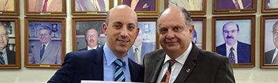 Jonathan Greenblat visitó el CDI
