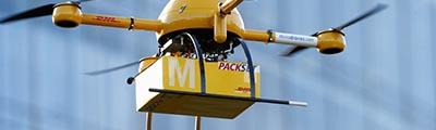 Israel, el primer país con vuelos de drones no tripulados