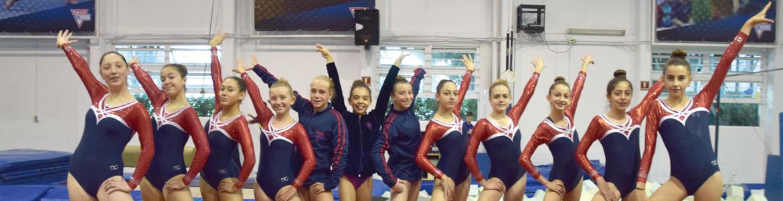 La presencia de nuestras gimnastas