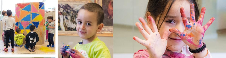 Una tarde en Pintura y Escultura Infantil