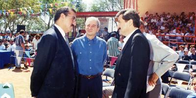Remembranzas de los Juegos Macabeos Panamericanos Abanderamiento de la Delegación Mexicana en 1999