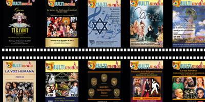 250 representaciones de los Espectáculos Multimedia Entrevista a Lic. Isaac  Frischwasser