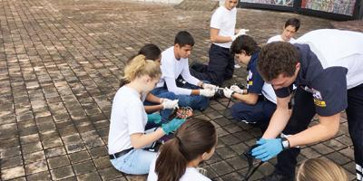 Técnicos en Urgencias Médicas de la Comunidad. Ser Madrij en GAMP 'Coaj'