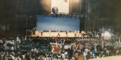 Remembranzas de los Juegos Macabeos Panamericanos,Inauguración de los IV Juegos en 1979, la primera de México