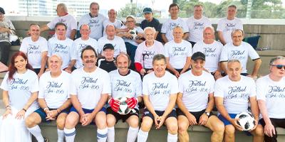 Fútbol Veteranos CDI. Reencuentro en el CDI, Fútbol Sub-100