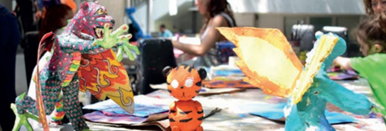 Taller de Alebrijes de la Academia de Arte Mente en Expresión #YOSOYHISTORIA