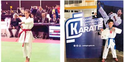 Campamento nacional infantil juvenil de karate en Irapuato 2020