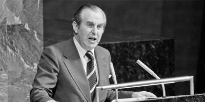 Hoy en la historia judía / Nace el sexto presidente de Israel, Jaim Herzog