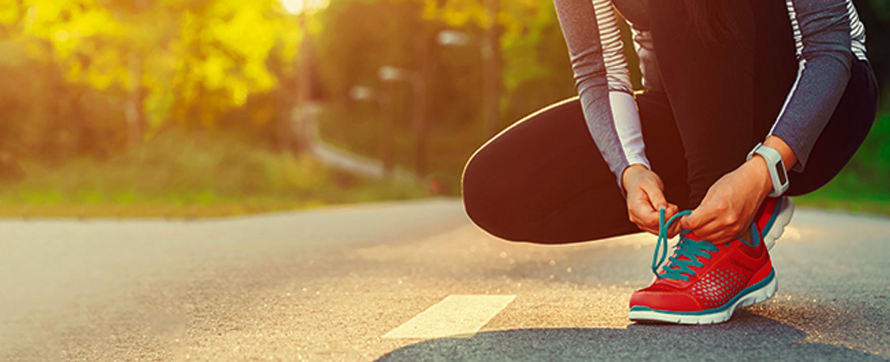 El uso adecuado del calzado para correr