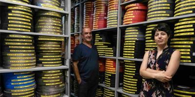 Valiosos archivos de la Cinemateca de Jerusalem