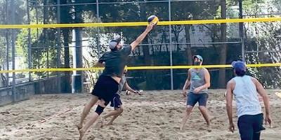 ¡Voleibol de playa!